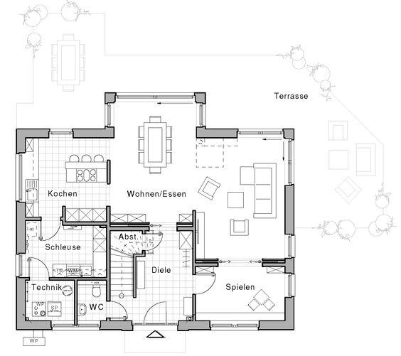 edition 425 wohnidee haus das familienhaus viebrockhaus haus bau ideen pinterest. Black Bedroom Furniture Sets. Home Design Ideas
