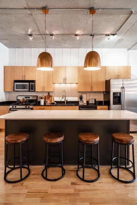 Get The Best Industrial Home Decor Ideas Www Delightfull Eu Visit Us For Industrial Style Inter Urban Kitchen Urban Industrial Decor Contemporary Kitchen