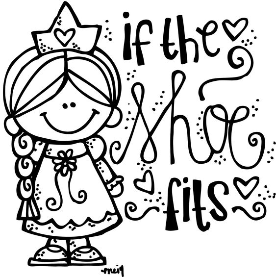 one horse open sleigh coloring page - melonheadz illustrating if the shoe fits freebie