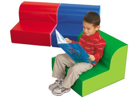 # 5 Lakeshore Dream Classroom-Comfy Reading Seats - Set of 3