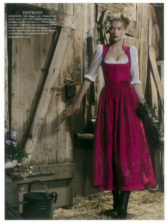 The Miller's Daughter (Rumpelstiltskin) [Lodenfrey for Vogue Deutsch]