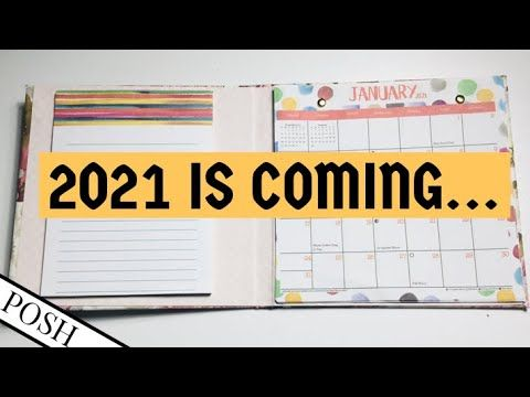 2021 Calendar Hack Diy 2021 Calendar Portfolio Dollar Tree 2021 Calendar Project Diy Paper Craft Youtube In 2020 Paper Crafts Diy Diy Paper Dollar Tree