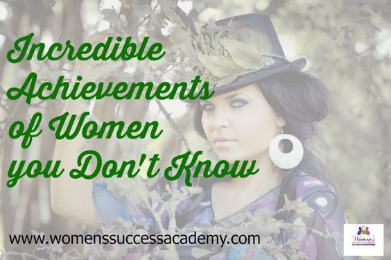 Motivation and inspiration are the fuel for your success. Here are true, real life stories about incredible achievements of women you don't know. Be inspired www.womenssuccessacademy.com