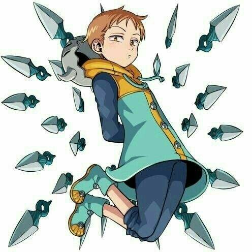 Pin By Yoonji7u7 On Dibujos Seven Deadly Sins Anime Anime King Cute Anime Character