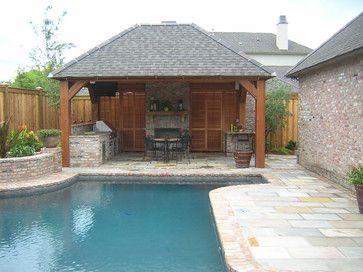 Pool Cabanas | Pool Cabana - traditional - pool - new orleans - by ...