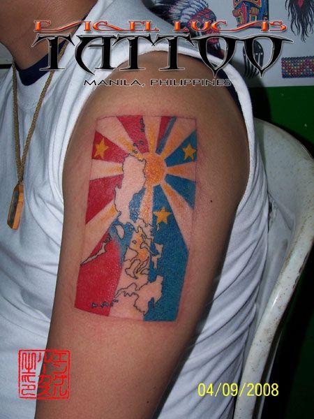 philippine flag tattoo philippine islands with sun and stars tattoo ideas pinterest sun. Black Bedroom Furniture Sets. Home Design Ideas