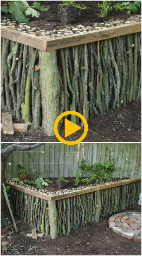 25 Cheap And Easy Diy Home And Garden Projects Using Sticks And Twigs Diy Cr Diy Garden Decor Garten