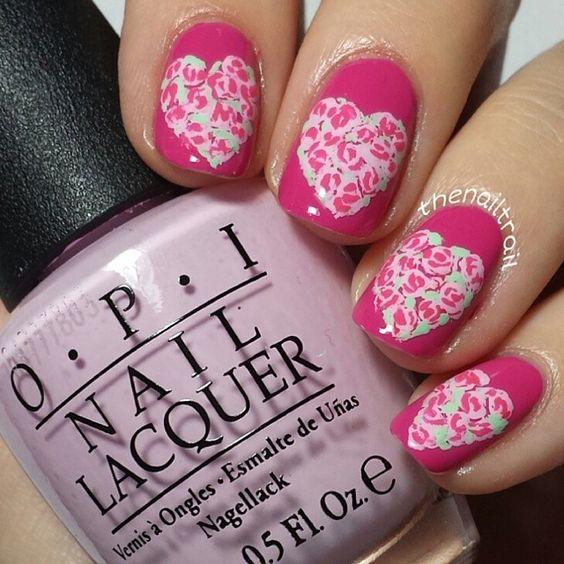 valentine by thenailtrail #nail #nails #nailart