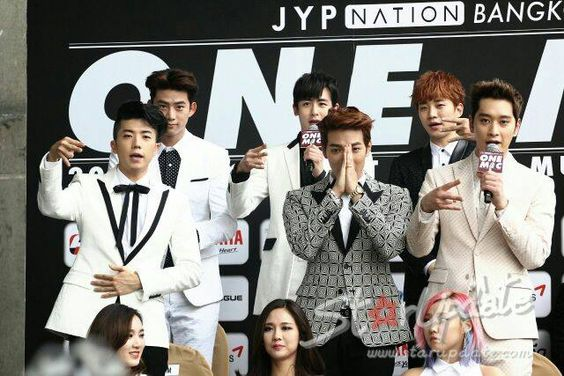2pm | JYP NATION in BANGKOK 2014 'ONE MIC'  #JYPNATION #ONEMIC