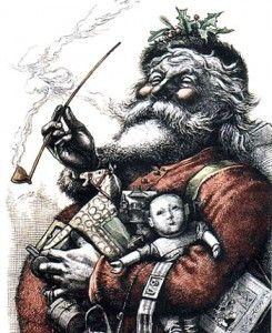 Thomas Nast Father Christmas