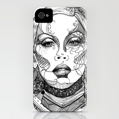 Christina Aguilera iPhone Case by Spectral Lion Design - $35.00