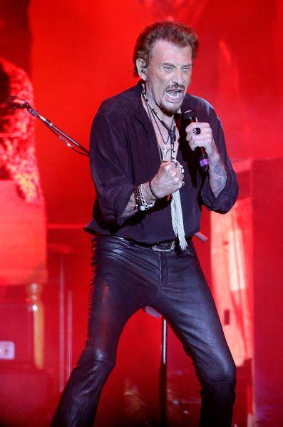 Johnny Hallyday donnait un concert sous le signe de l'émotion dans le bassin d'Arcachon à l'occasion de sa tournée…