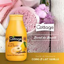 Secret de beauté n°1 : plongez-vous dans un bon bain chaud avec la Douche Lait Coing & Lait Vanillé pour une peau douce et apaisée.