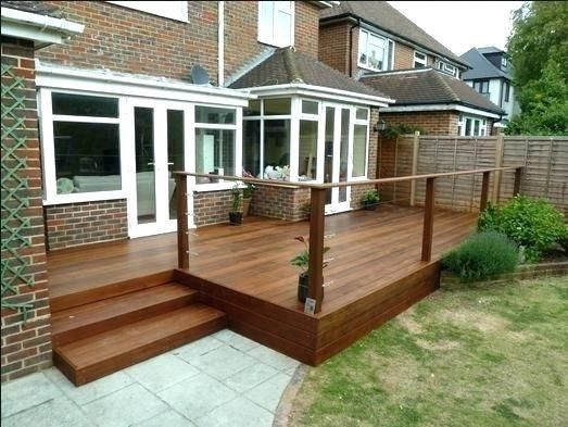 Cost To Build Deck Stairs Best Wooden Steps Images On Decks And