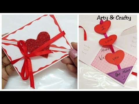 Beautiful Handmade Valentine S Day Card Diy Greeting Card For