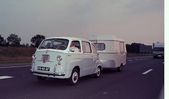 Fiat D 600 Multipla & Eriba Puck by dezondraaitmetjemee