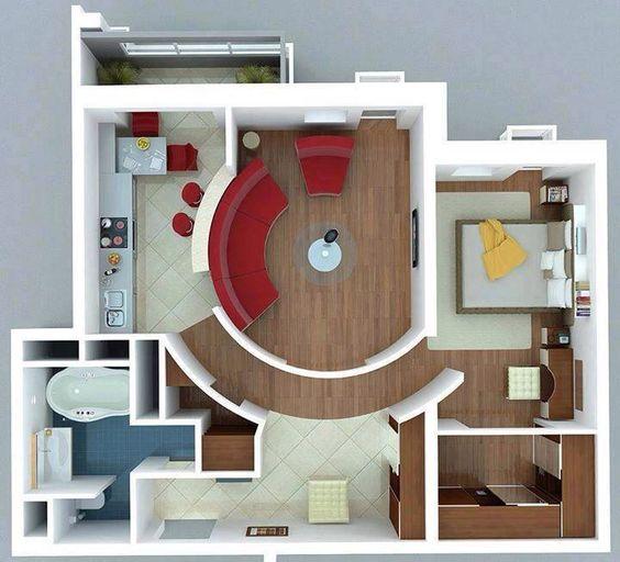 one bedroom interior design one bedroom flat flat design and one bedroom - One Bedroom Design