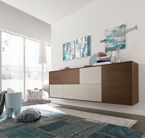 Buy Greco Sideboard For Sale At Deko Exotic Home Accents. Greco Floating  Sideboard With Clean · Modern Living ...