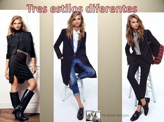 Perfecta Imagen: Tres estilos