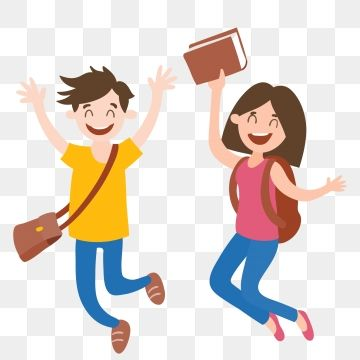 Excited Student Happy Student School Season School Student Cartoon Hand Drawn Characters Character Illustration Hand Drawn Student PNG Transparent Clipart Im in 2020 Happy students Character illustration Student cartoon