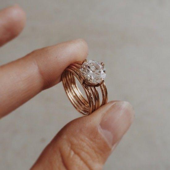 Bohemian Wedding Rings 013 - Bohemian Wedding Rings