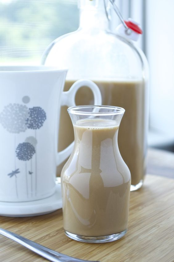 Say goodbye to chemical filled coffee creamer with this delicious homemade version! It's dairy-free, gluten-free, vegan, and it's free of refined sugar.