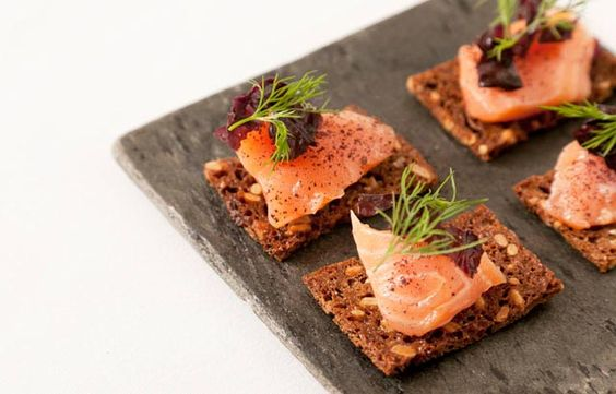 Agnar Sverrisson's divine salmon gravlax recipe will suit a party or large gathering perfectly. A mustard and horseradish sauce gives the salmon a piquant counterpoint