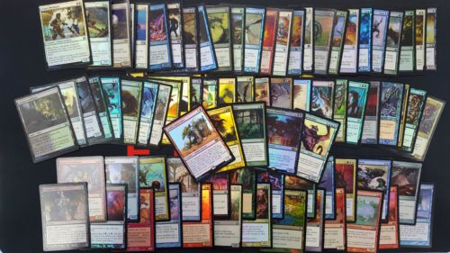 5 BONUS Foil Rares MTG 75 Magic the Gathering Foil Common Uncommon Cards Lot