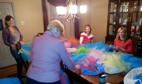Let the Tutu-ing begin!