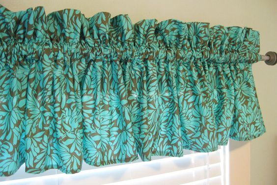 Valance curtains, Valances and Curtains on Pinterest