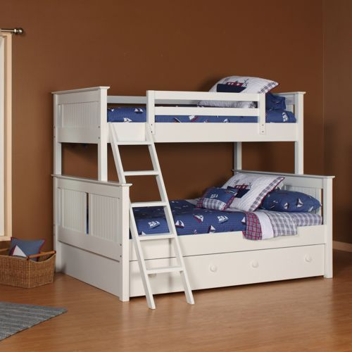 Dakota Twin Over Full Trundle Bunk Bed Set For The Home