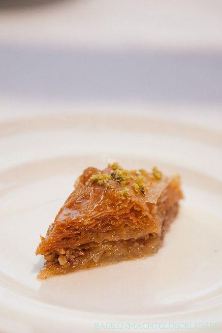 Traditionelles Baklava-Rezept mit Filoteig - wunderbar saftig und süß!