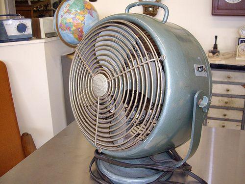 Vintage Industrial Metal Fan SOLD