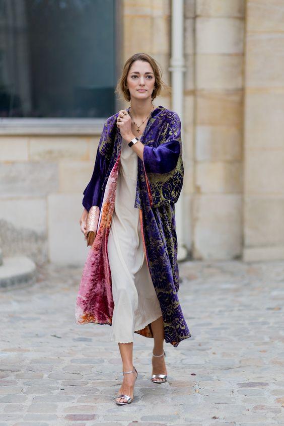 Il kimono sopra i jeans ovvero effetto vestaglia addio! 30 modi alias look esemplari just for you