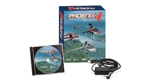 $129.99 Phoenix R/C Pro Simulator V4.0. When the rain clouds are over your flying field and you still want to scratch the flying itch, fire up the Phoenix Professional RC Flight Simulation 4. The Phoenix Professional RC Flight Simulations stunning graphics and incredibly realistic physics are among the best of any desktop flight simulation. The revolutionary InfinityScape 3D landscape generator lets you fly beyond the horizon over beautiful, every-changing terrain that you create and…