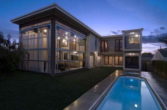 Las mejores creaciones de casas hechas con contenedores marítimos.