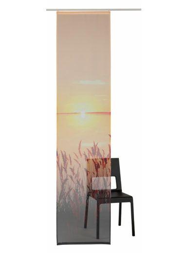 Schiebegardine, my home, »Sunset« (1 Stück mit Zubehör)