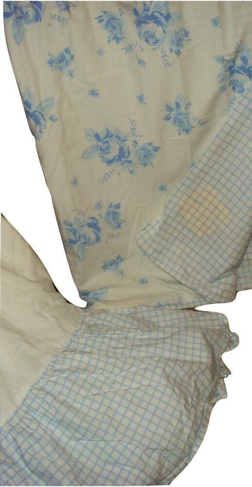 Pottery Barn Kids Crib Duvet Cover Cribskirt Crib Skirt Blue