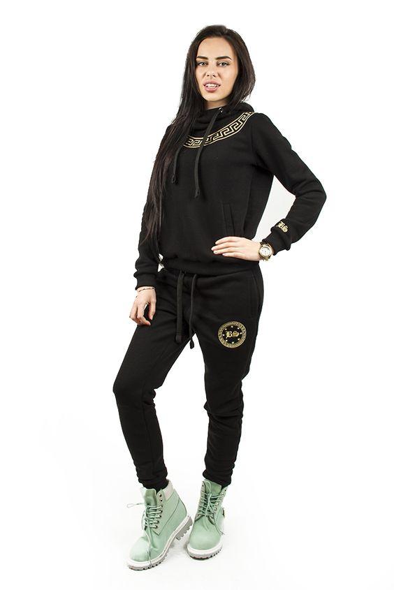 Женский костюм black star спортивный