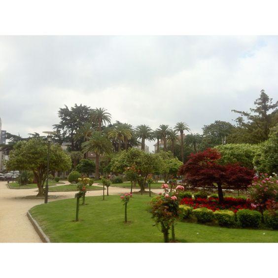 Alameda de Pontevedra... Un lujo pasear por aquí ;-)