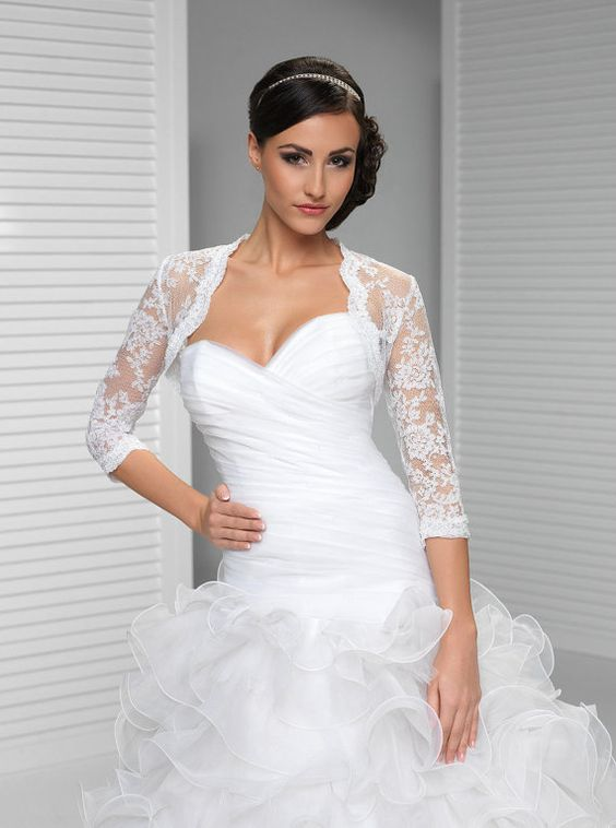 Wedding dress cover up lace – Dress blog Edin