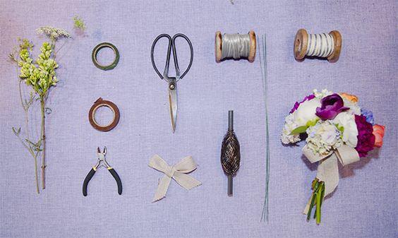 Ramo y herramientas vía @Paula Ordovás Foto @mordavas