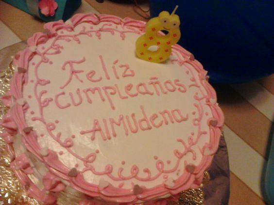Cumpleaños Almudena.
