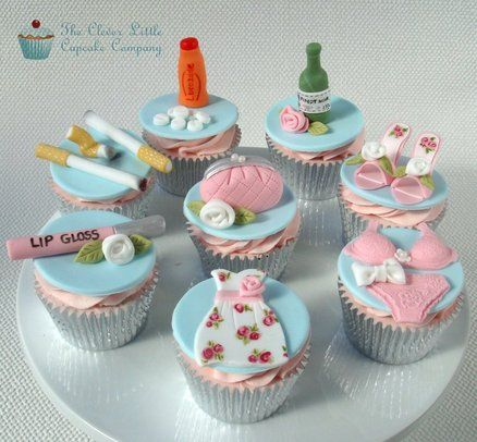 Girls Night Out Cupcakes - by CleverLittleCupcake @ CakesDecor.com - cake decorating website