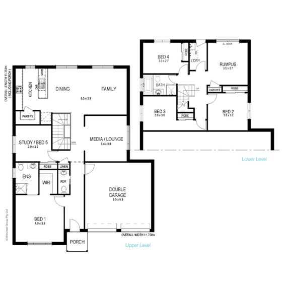 Split level, Doubleview. For a sloping block – Wincrest Homes ...
