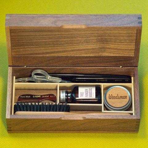 beard grooming kits grooming kit and beard grooming on pinterest. Black Bedroom Furniture Sets. Home Design Ideas