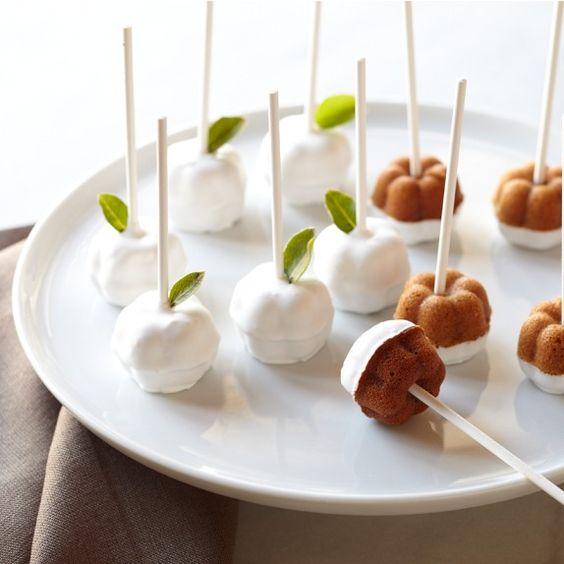 Caramel apple cake balls recipe
