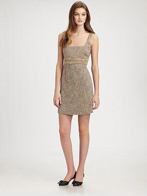 RED Valentino - Tweed Dress - Saks.com