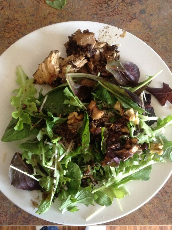 How to Make a Wilted Balsamic Chicken Salad