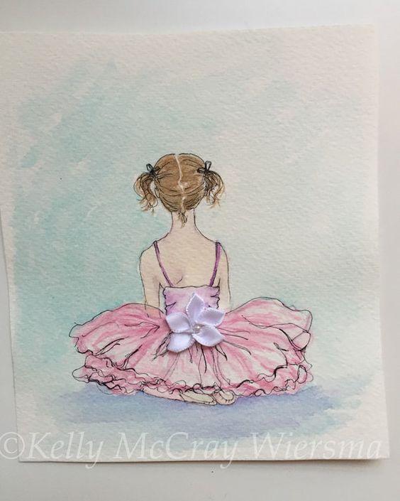 Tiny Dancer Watercolor